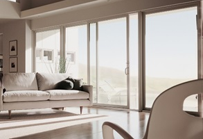 Contemporary Sliding Patio Door